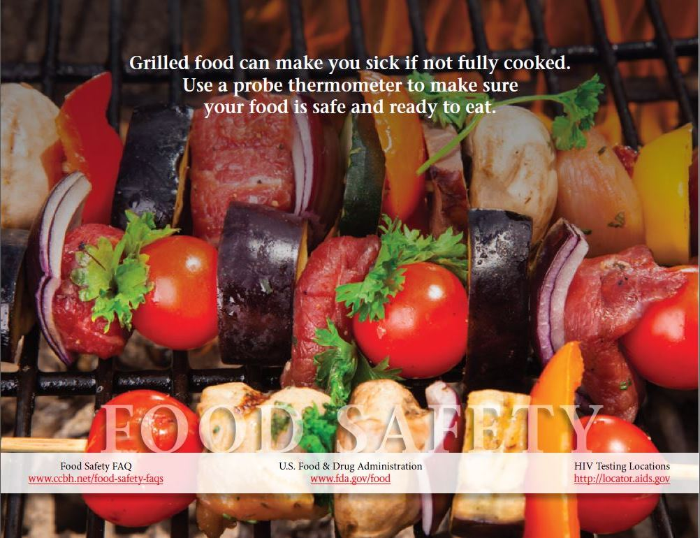 Cooking Safely On The Grill