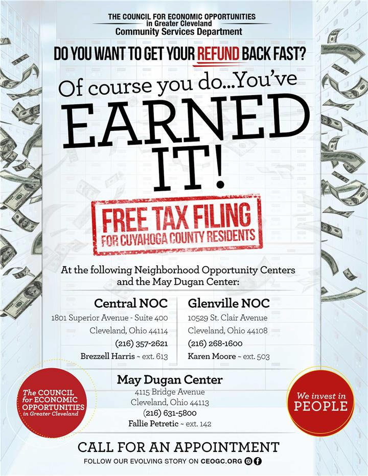 Free Tax Filing Assistance