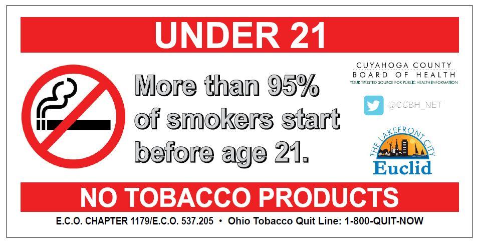 Euclid Passes Tobacco 21 Law